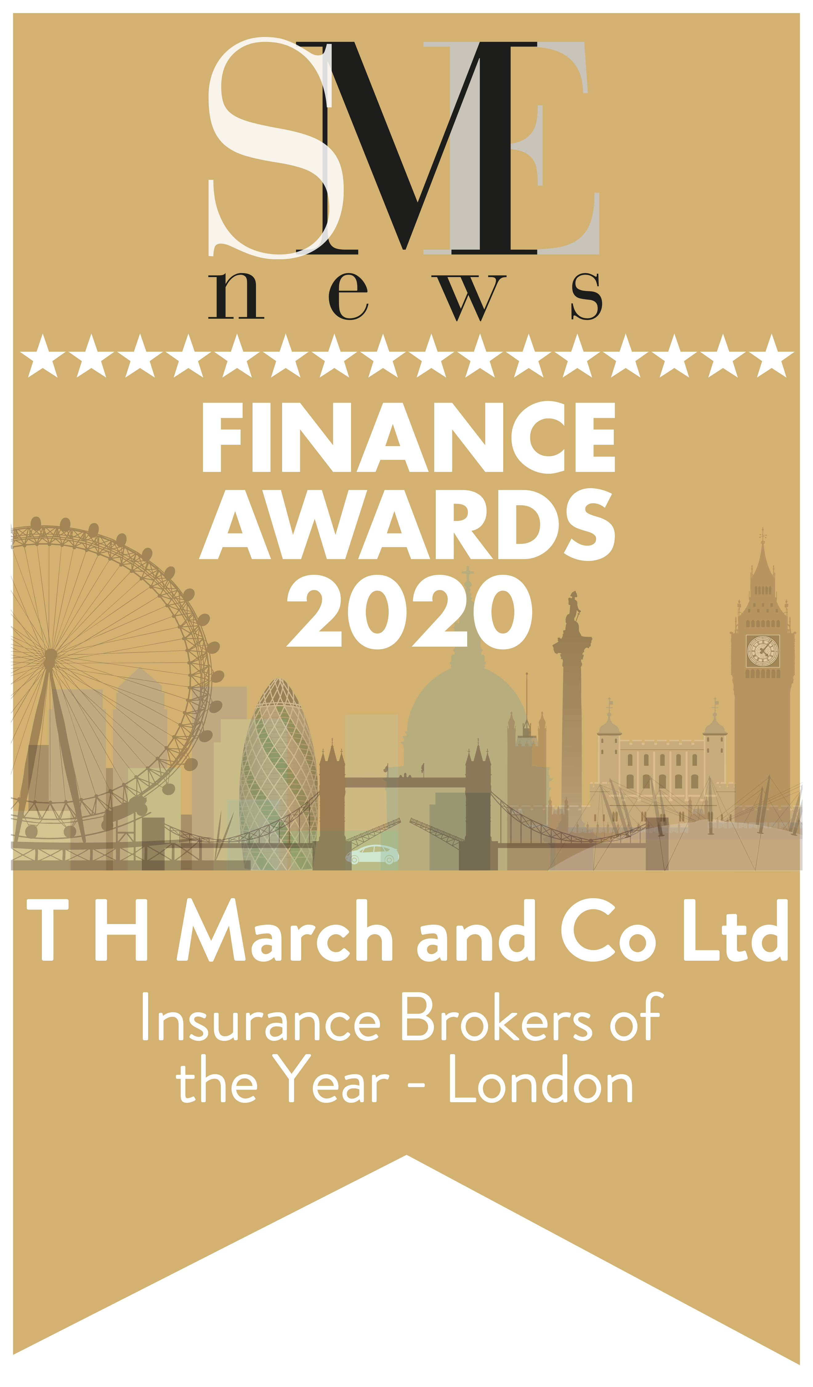 SME News Finance Awards 2020 - Insurance Brokers of the Year - London