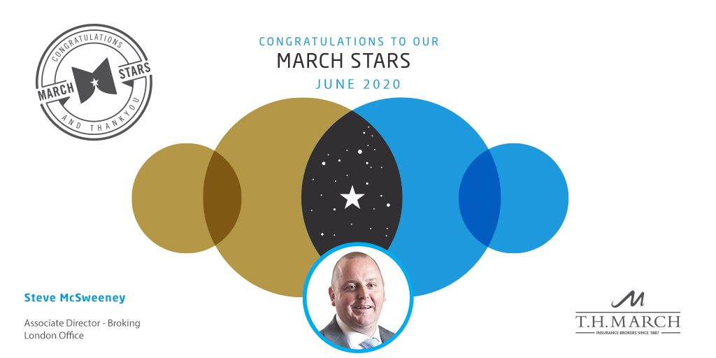 Congratulations to our March Star Winner for June