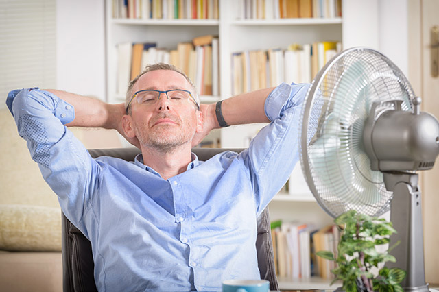 Staying Cool While Working From Home During a Summer Heatwave