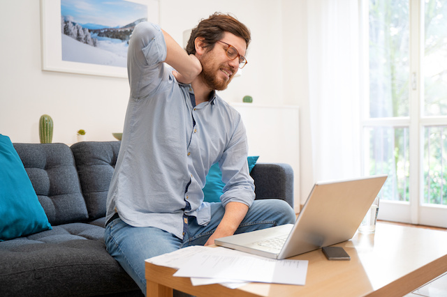 Address Ergonomics for Employees Continuing to Work Remotely