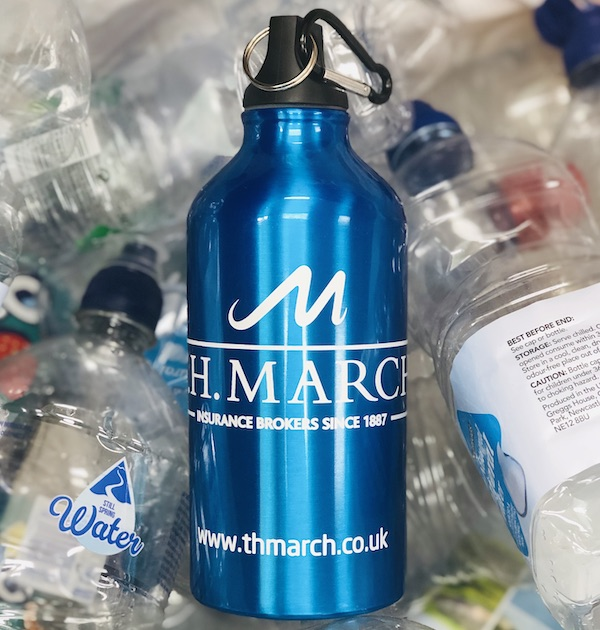Our War On Plastic - TH March Decide To Use Refillable Metal