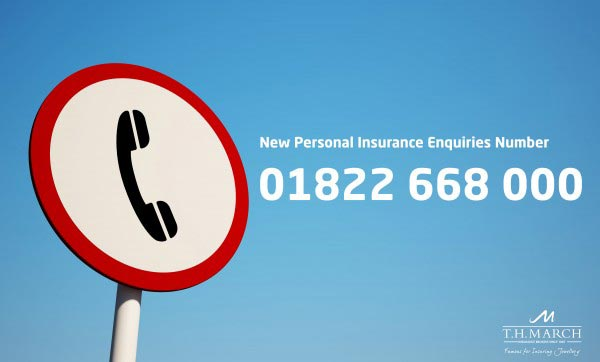 New Telephone Number Announcement | TH March